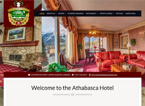 Athabasca Hotel. Website Part 51
