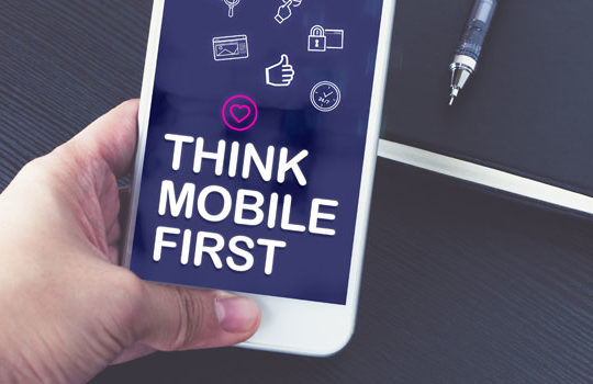 Think Mobile First