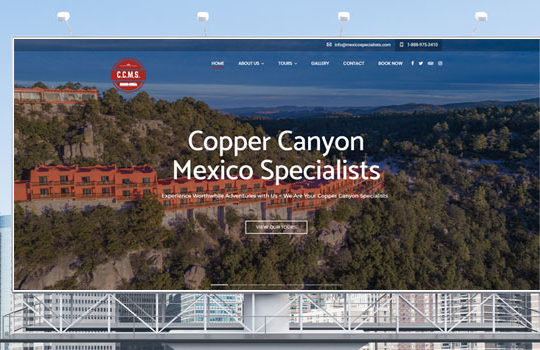 Featured Design: Copper Canyon Mexico Specialists