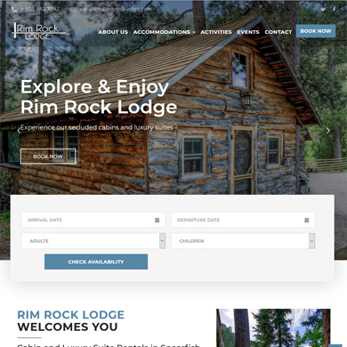 Rim Rock Lodge portfolio