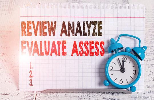 Review, Analyze, Evaluate, Assess website
